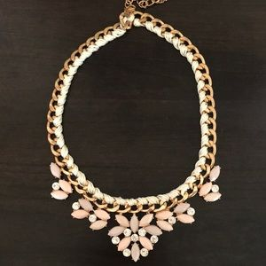 Gold and White ViVi Necklace